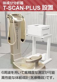 T-SCAN-PLUS装置設置